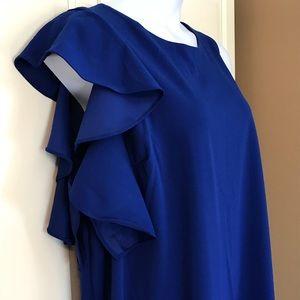 Lane Bryant Ruffle Sheath Dress - NWT